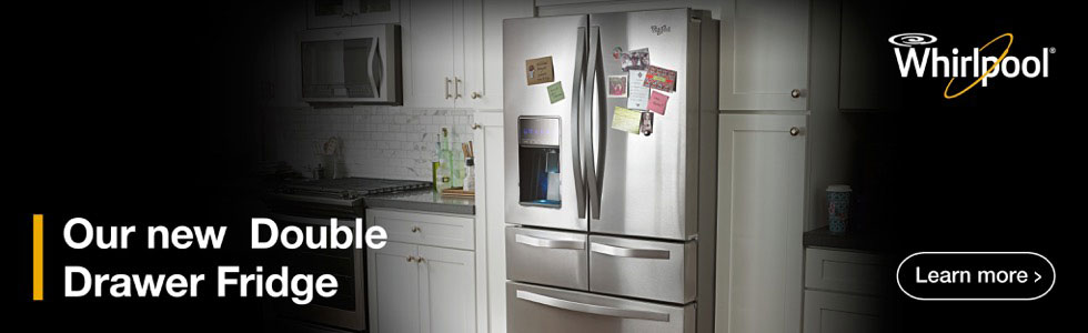Whirlpool Double Drawer French Door Refrigerator